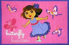 Pink Dora Butterfly Buddies kid'as rig for girls in 100 x 150 cm St Marys Penrith Area Preview
