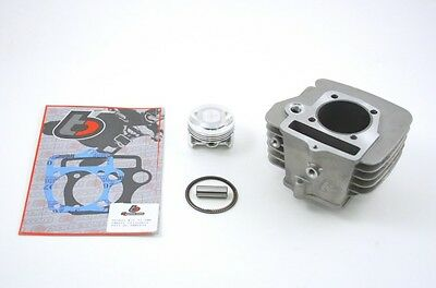 PIT BIKE 146cc BIG BORE CYLINDER PISTON KIT * 14mm piston pin engine