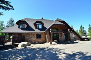 8 Bed Okanagan B&B with 2nd residence near Silver Star Resort BC