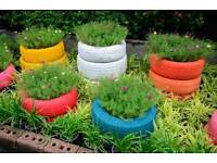 SCRAP TIRES Ideal for planters