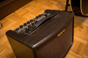 ROLAND AC - 33. Battery Powered Amp! Great Quality