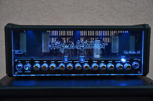 Hughes and kettner tubemeister 36 with 2x12 Vertical Traynor Cab