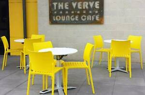Folding cafe & bar tables - great for lunchroom & small areas Springvale Greater Dandenong Preview