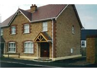 Three bedroom house fully furnished all mod con to let from now until mid September.