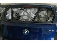 Bmw 1 series boot lid