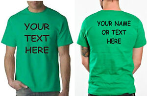 Buy your custom personalized t shirt put your text or name for Custom t shirts under 5 dollars