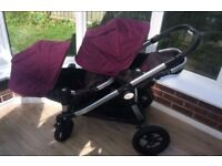 City select jogger double pushchair