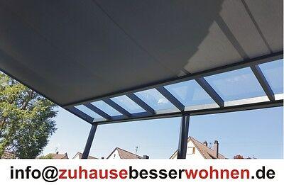 Unterdachbeschattung - Markise für Terrassendach Terrassenüberdachung  5,5x4m