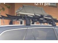 Bike rack for roof of Toyota avensis