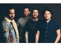 Fall Out Boy FRONT ROW Tickets O2 Arena London 31/3/18