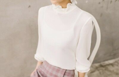 Korean style Blouse (Cream, Pinkbeige, Coolgray)