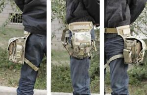 Brand New Tactical Drop-Leg Utility Bag in Multicam
