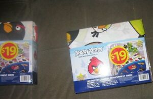 Angry bird super soft standard twin sheet sets.