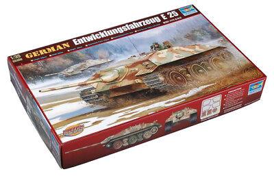 Trumpeter 9360383 Deutscher Jagdpanzer E-25 1:35 Fahrzeug Modellbausatz