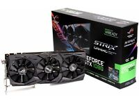 ASUS NVIDIA GEFORCE GTX 1080 8GB ROG STRIX GAMING CARD BOXED LIKE NEW