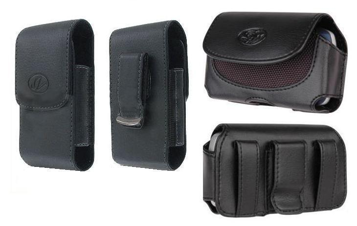 2x Case Pouch Holster For Straight Talk/tracfone/net10 Motorola Moto E Xt830c