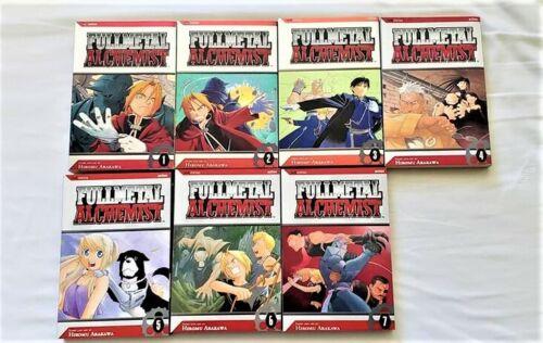 Fullmetal Alchemist VIZ Graphic Novel Vol 1 to 7 English