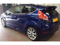 Ford Fiesta 1.0, 1.2, 1.4, EcoB Zetec Titanium X BLUE, 3dr FROM £41 PER WEEK!