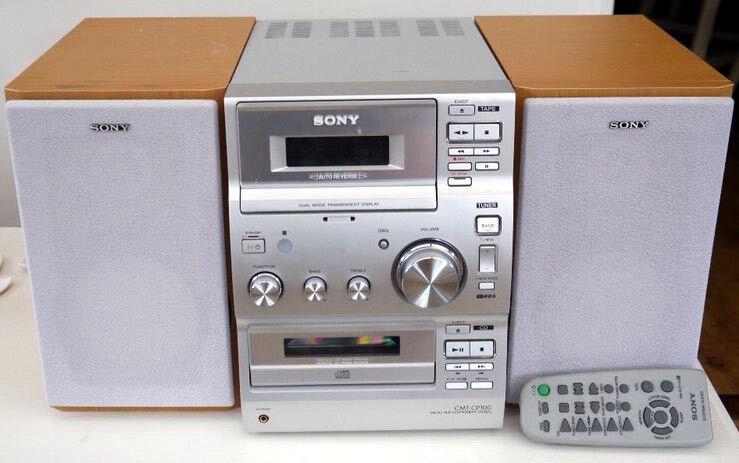 Sony CMT-CP100 Audio shelf system