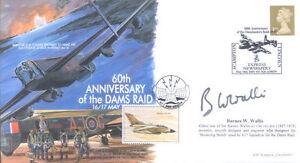 MF6 WWII WW2 Dambuster Raid RAF cover signed Barnes W Wallis