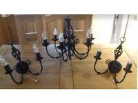 Full set of interior kitchen/living room lights