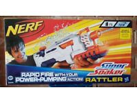 NERF Super Soaker Rattler - Bought but never used