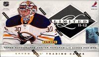 2011-12 Panini Limited Hockey Cards Box