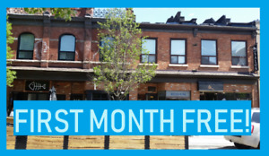 FIRST MONTH FREE! 2bed on King William, $1600/mnth