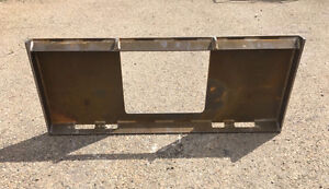 UNIVERSAL SKID STEER QUICK ATTACH MOUNTING PLATE BOBCAT CAT