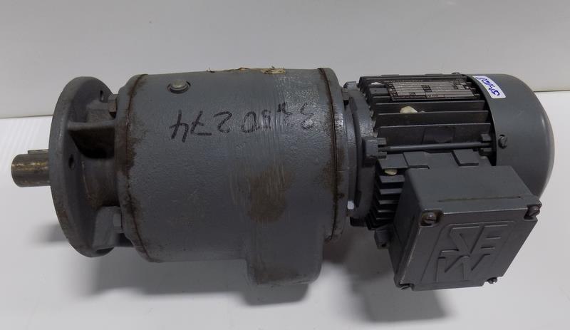 SEW-EURODRIVE RF60DT71D4 GEAR DRIVE 180/140RPM