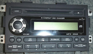 Honda Ridgeline XM Radio Stereo 6 CD Disc Changer Player
