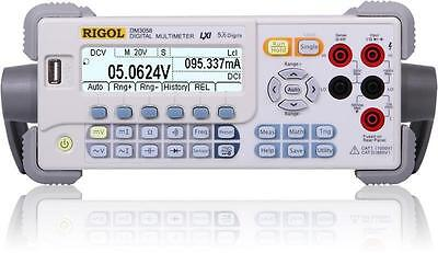 Rigol Dm3058e Real 5 Digits Readings Resolution Bench Top Multimeter True-rms