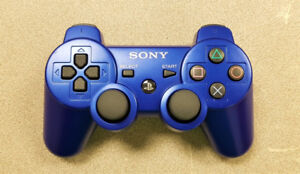 Blue Sony PS3 Controller