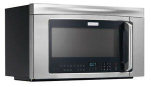 Electrolux over the range microwave stainless