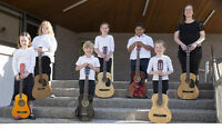 $10 Guitar Lessons for kids aged 6-13