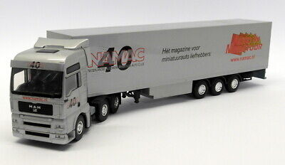 Lion Toys 1/50 Scale - Jim078 M.A.N Truck 40 year NAMAC Magazine for Model Cars