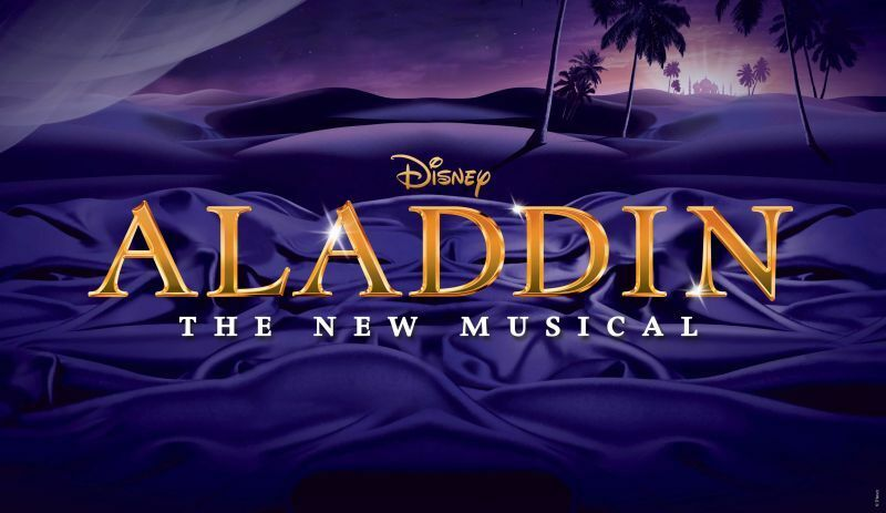 2 X Aladdin The Musical Tickets Sat 28th May 730 Prince
