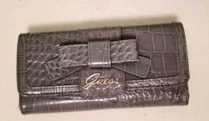 Guess Grey leather wallets