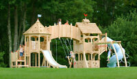Custom built play structures,sheds,and playhouses