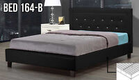 Beautiful and sleek Bed Frame - Queen, Double & Single (Bed 164)