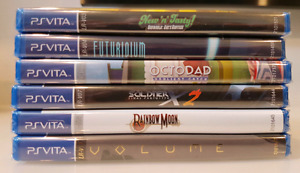 Sealed Limited Run Games for the Vita