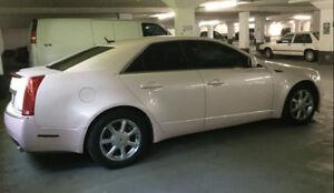 BLUSH  PINK  2008  CADILLAC CTS --- New Engine with 101,837 KM
