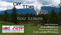 Golf Lessons on Sale!  Valentines Speical!