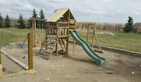 Large wooden kids playing set! First come first get!