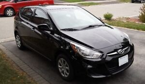 2012 Hyundai Accent L 5DR Hatchback - ONLY 45,000kms