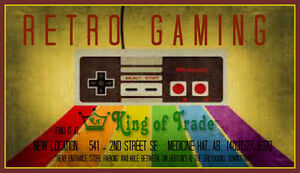 Retro Gaming at King of Trade - NEW LOCATION!