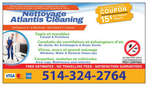 Nettoyage Atlantis Home Services