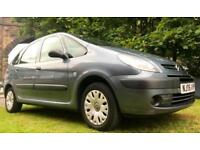 70 MPG 72000 MILES 2006 CITROEN PICASSO 1.6 HDI 93 BHP NEW TIMING BELT MOT 01.19