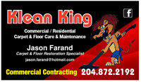 Klean King Commercial Carpet and Floor Care