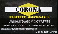 SNOW PLOWING SERVICE-CORONA PROPERTY MAINTENANCE